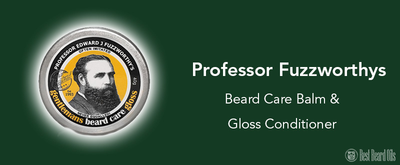 professor fuzzworthy beard cream review